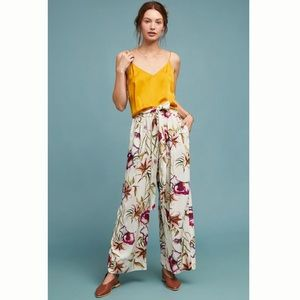 ✨ Anthro The Odells Riley Floral Wide-Leg Pants ✨